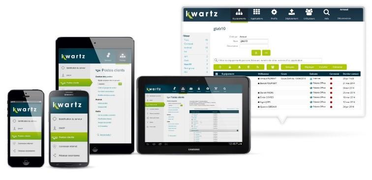 KMC Kwartz gestion des tablettes